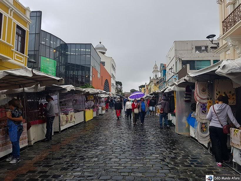 Feira do Largo de Curitiba - confraternização do Encontro da RBBV