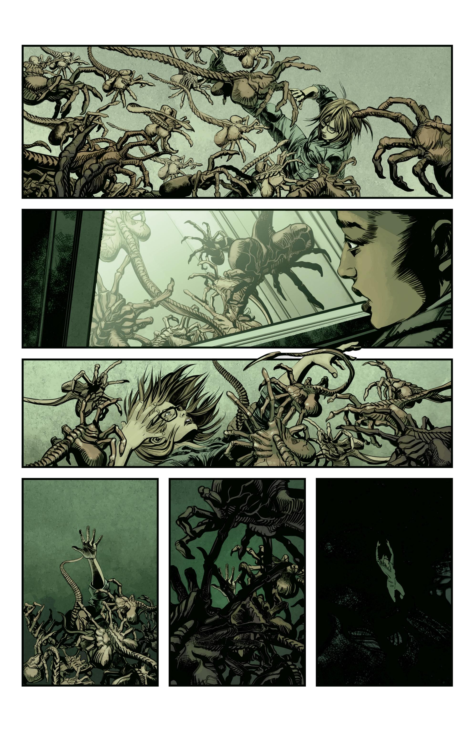 Read online Aliens: Defiance comic -  Issue #12 - 4
