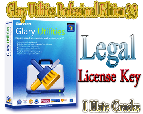 Get Glary Utilities Professional Edition 3.3 With Legal License Key
