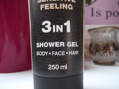 Men agent shover gel sensitive feeling