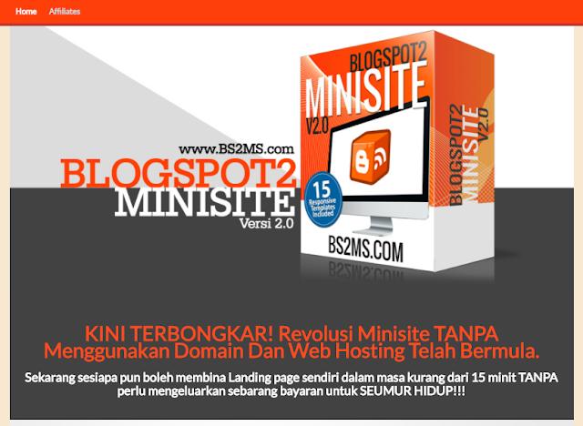 template-blogspot-minisite-percuma