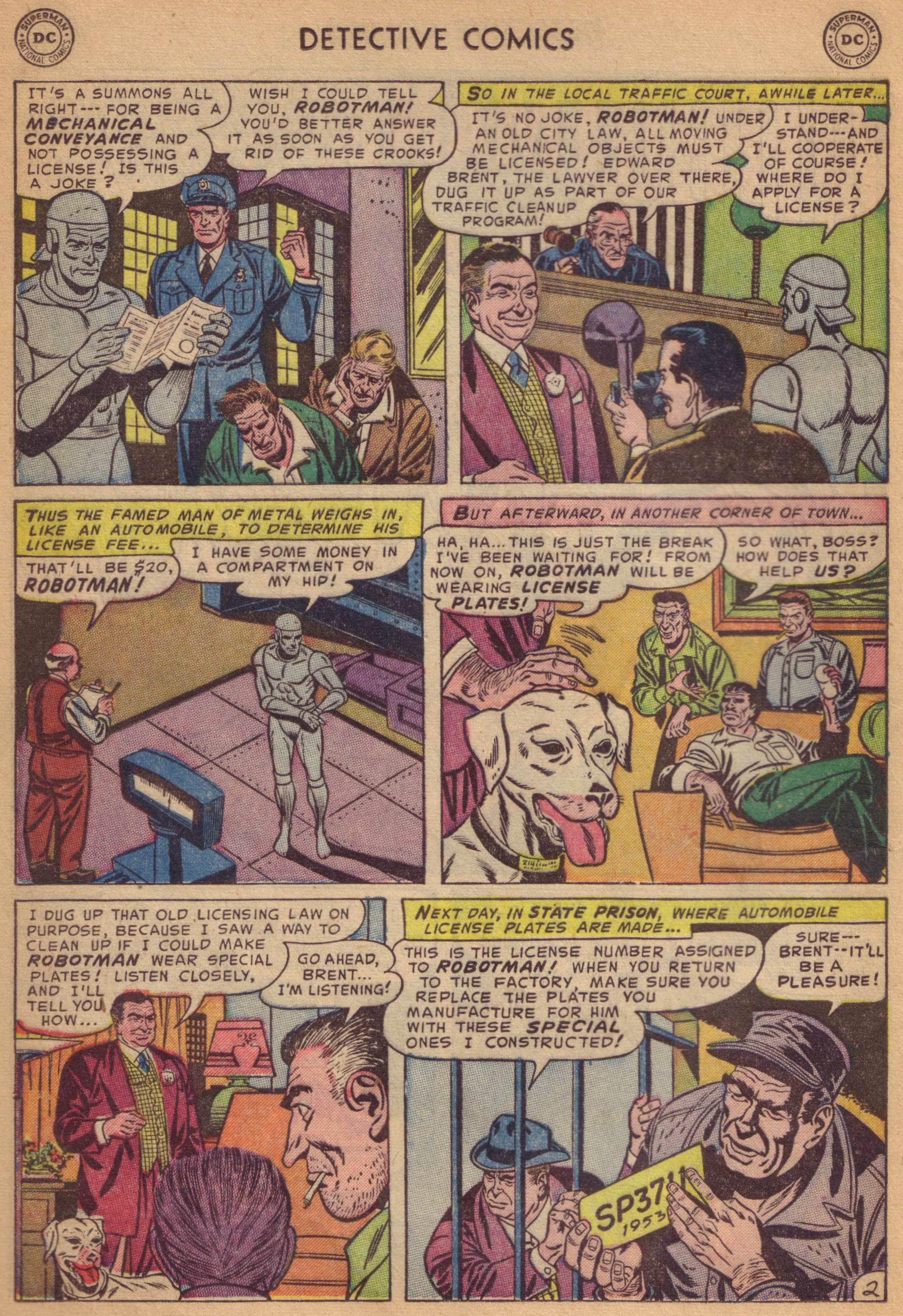 Read online Detective Comics (1937) comic -  Issue #197 - 26
