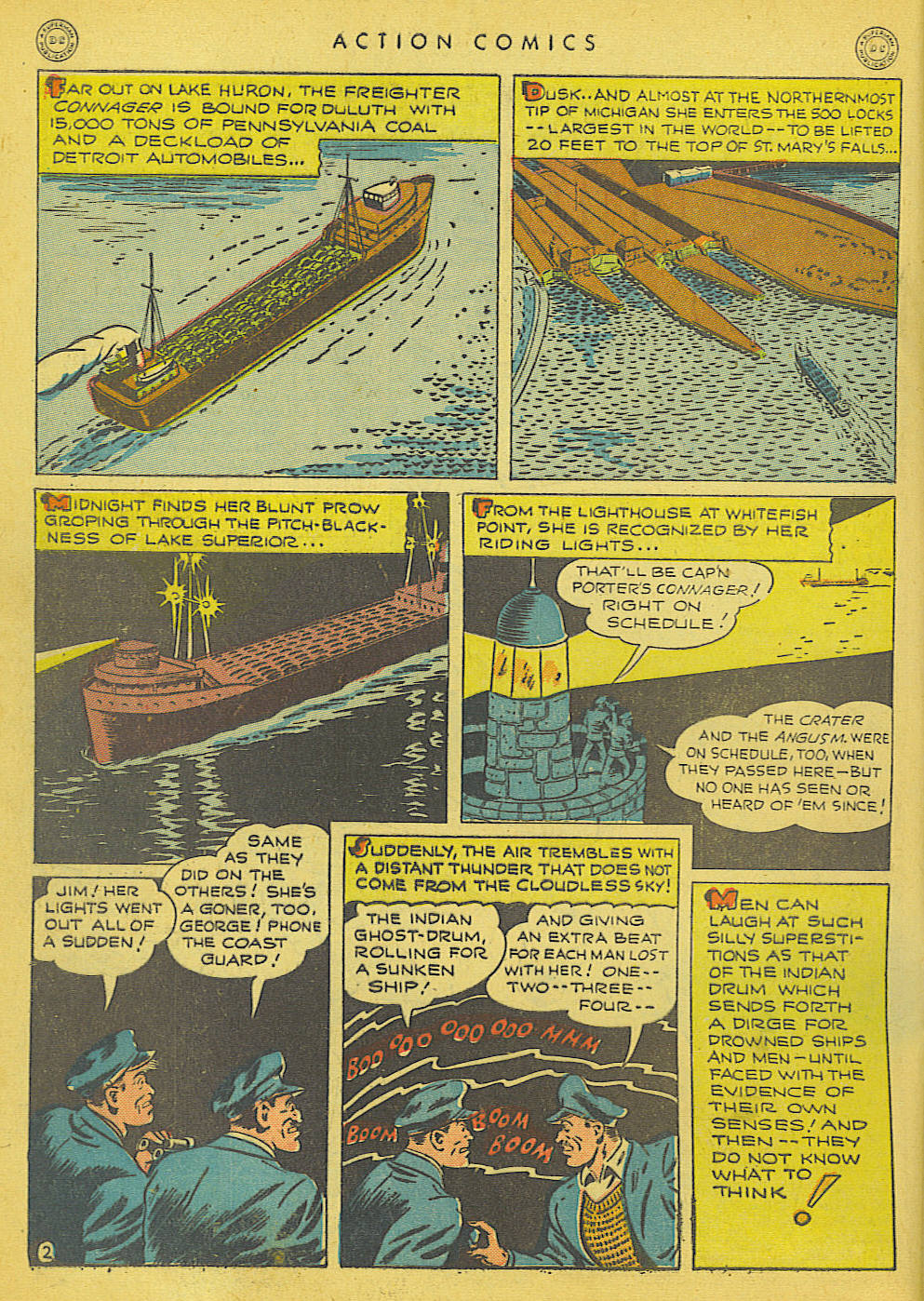 Read online Action Comics (1938) comic -  Issue #91 - 4