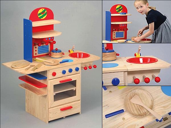 Kuchnia Drewniana Dla Dzieci Allegro
