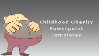 Childhood Obesity PowerPoint Templates Ideas