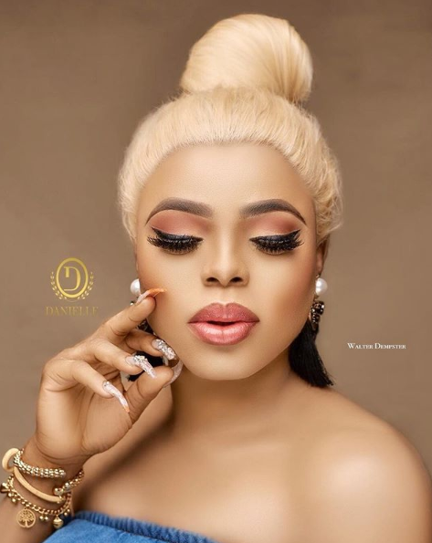 "Bobrisky Releases ""Flawless Photos"" To Prove He Has Perfect Skin"