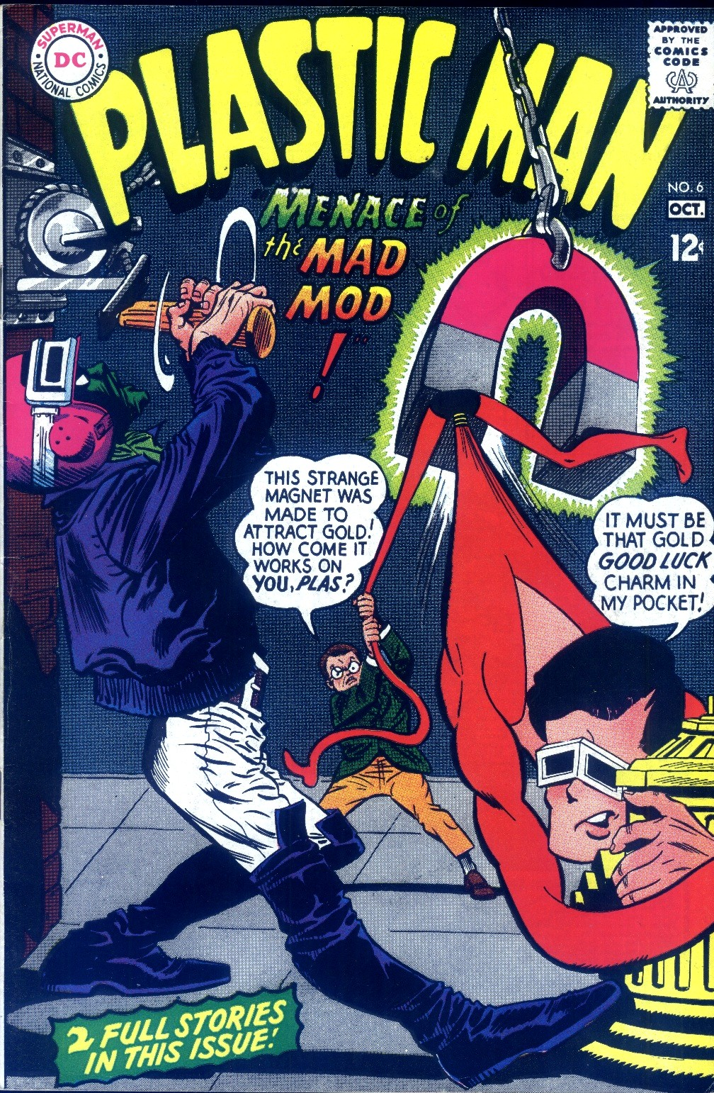 Plastic Man (1966) issue 6 - Page 1