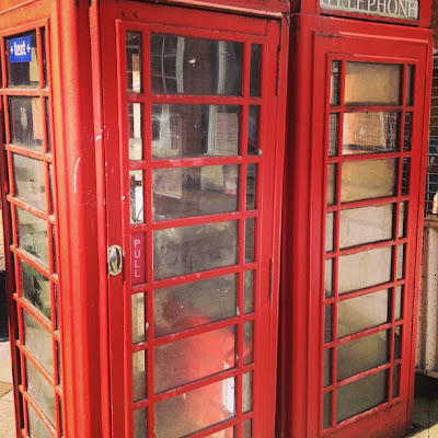 British Telephone Boxes, London, UK