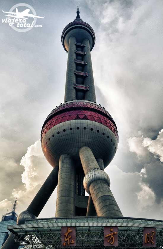 China - Shanghai - Rascacielos - Skyscraper - Perla de Oriente