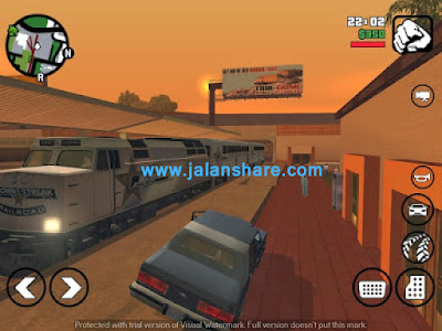 Gameplay Grand Theft Auto: San Andreas Apk Data For Android