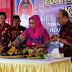 Bupati Klaten Hj Sri Hartini Potong Tumpeng 39 Tahun PDAM Tirta Merapi Klaten. Layani 241.048 Jiwa