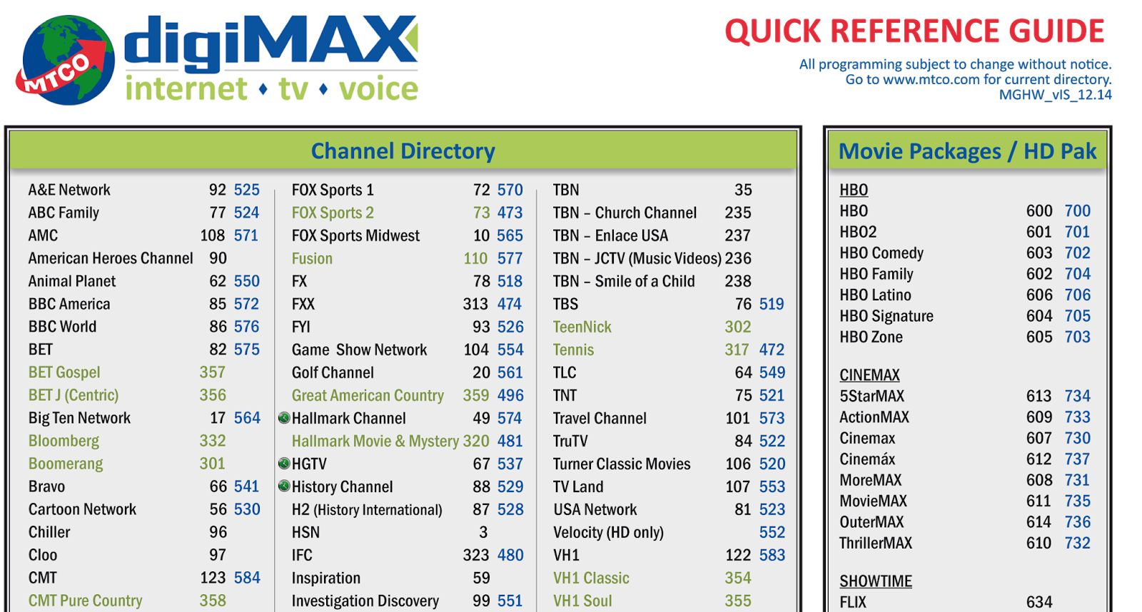 Ifc Channel Schedule