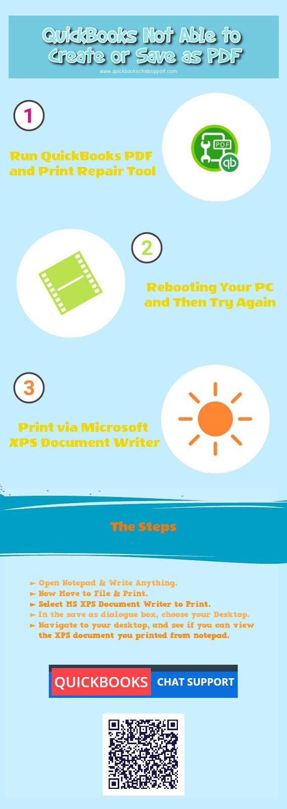 infographics quickbooks unable to save as pdf