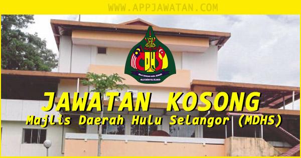 Jawatan Kosong Kerajaan di Majlis Daerah Hulu Selangor (MDHS)