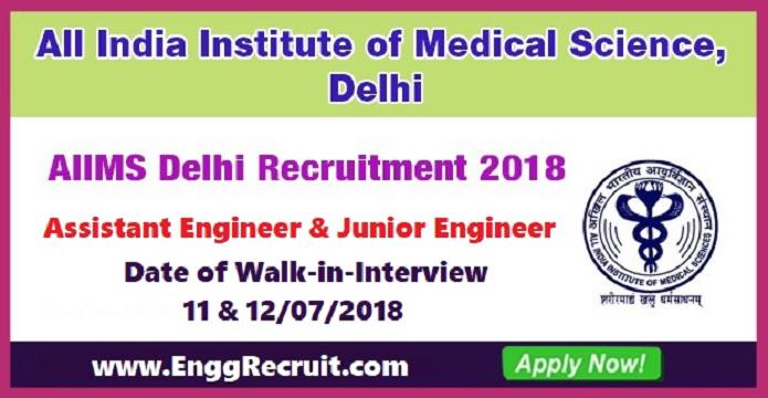 AIIMS Recruitment 2018