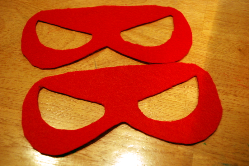 Sunshine and a Summer Breeze Free template for Spiderman mask