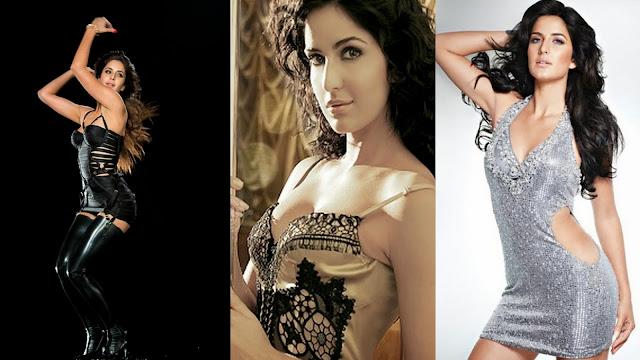 Katrina Kaif is looking sizzling hot in black latex leggings!