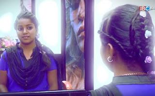 Arokiyame Azhagu   Simple French braid tie Hair Style   Ep 45   IBC Tamil Tv