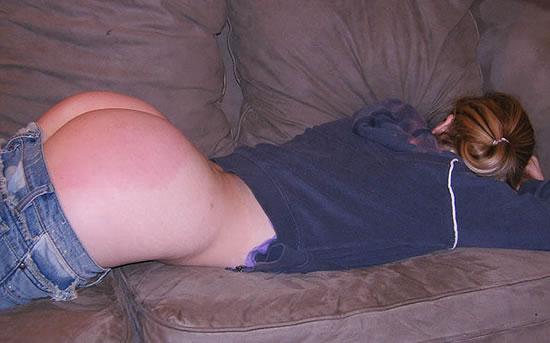 spanking amateur