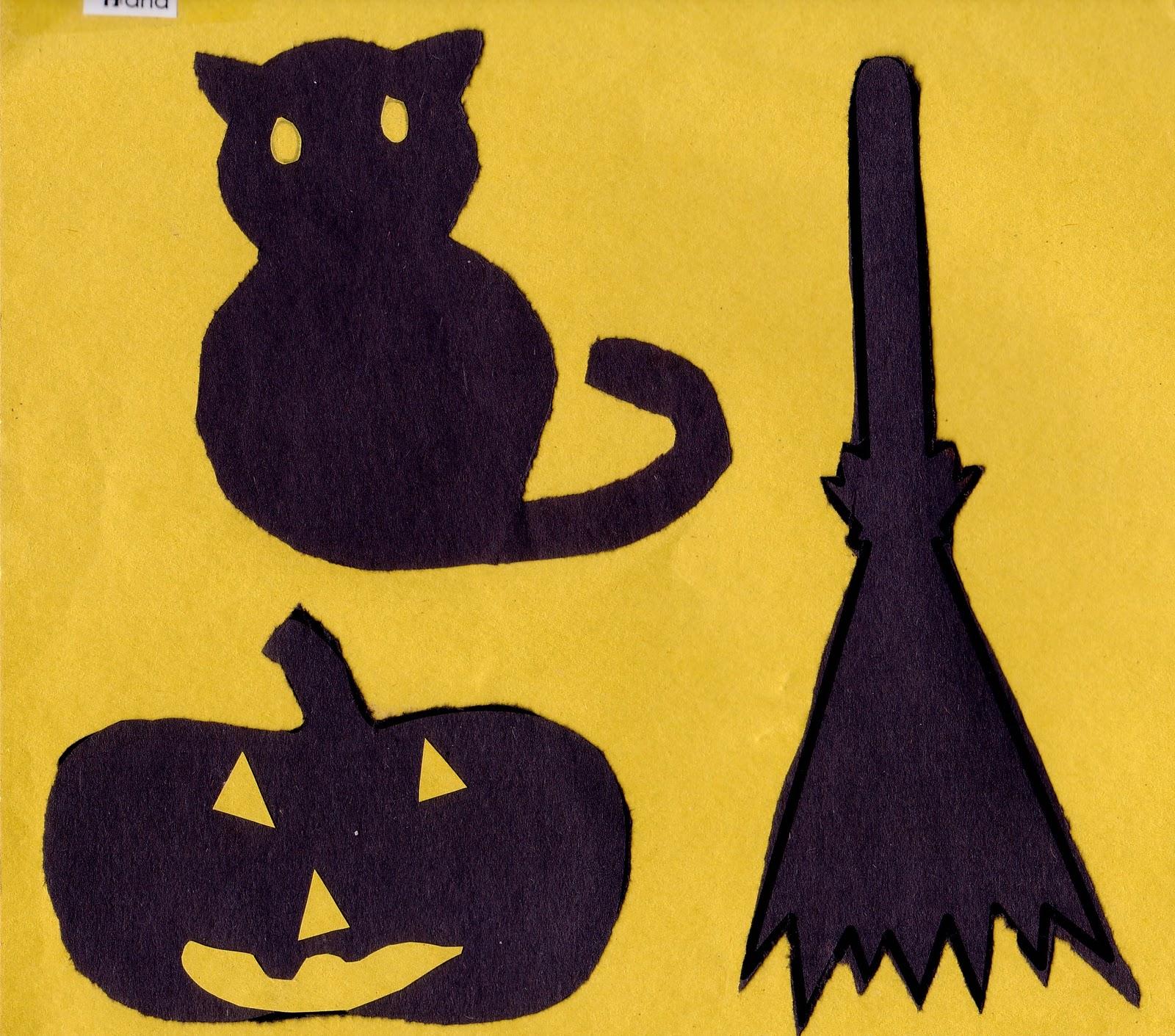 Preschool Crafts For Kids Easy Hallowen Banner Craft For