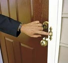 doorbell ringing