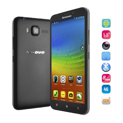 Lenovo A916 Specifications - LAUNCH Announced 2014, November DISPLAY Type IPS LCD capacitive touchscreen, 16M colors Size 5.5 inches (~72.8% screen-to-body ratio) Resolution 720 x 1280 pixels (~267 ppi pixel density) Multitouch Yes BODY Dimensions 149.5 x 76.6 x 8.7 mm (5.89 x 3.02 x 0.34 in) Weight 173 g (6.10 oz) SIM Dual SIM PLATFORM OS Android OS, v4.4.2 (KitKat) CPU Octa-core 1.4 GHz Cortex-A7 Chipset Mediatek MT6592 GPU Mali-450MP4 MEMORY Card slot microSD, up to 32 GB (dedicated slot) Internal 8 GB, 1 GB RAM CAMERA Primary 13 MP, autofocus, dual-LED flash Secondary 2 MP Features Geo-tagging Video Yes NETWORK Technology GSM / HSPA / LTE 2G bands GSM 900 / 1800 / 1900 - SIM 1 & SIM 2 3G bands HSDPA 900 / 2100 4G bands LTE band 1(2100), 3(1800) Speed HSPA, LTE GPRS Yes EDGE Yes COMMS WLAN Wi-Fi 802.11 b/g/n, hotspot GPS Yes, with A-GPS USB microUSB v2.0 Radio FM radio Bluetooth v4.0 FEATURES Sensors Accelerometer, proximity Messaging SMS(threaded view), MMS, Email, Push Mail, IM Browser HTML5 Java No SOUND Alert types Vibration; MP3, WAV ringtones Loudspeaker Yes 3.5mm jack Yes BATTERY  Removable Li-Po 2500 mAh battery Stand-by  Talk time  Music play  MISC Colors White, Black  - MP4/H.264 player - MP3/WAV/eAAC+ player - Photo/video editor - Document viewer