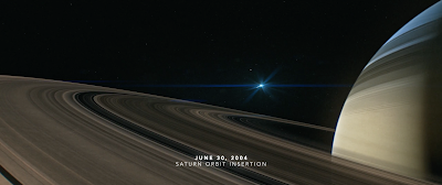 Illustration from the Cassini Grand Finale trailer