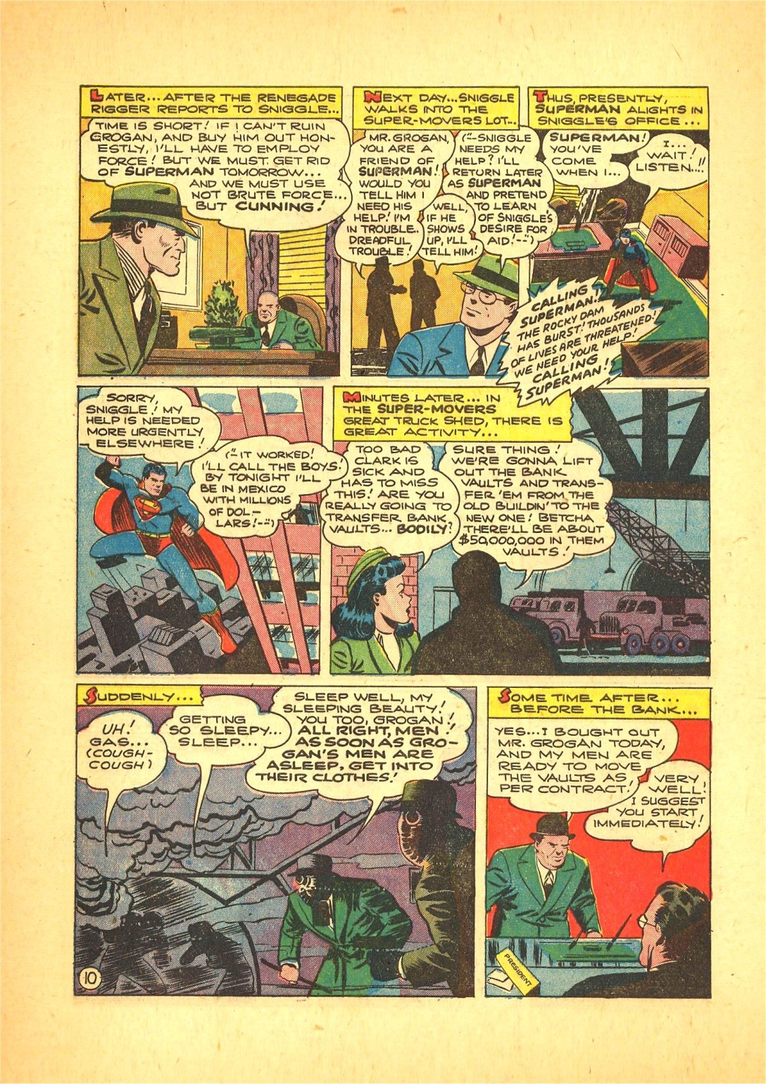 Read online Action Comics (1938) comic -  Issue #72 - 11