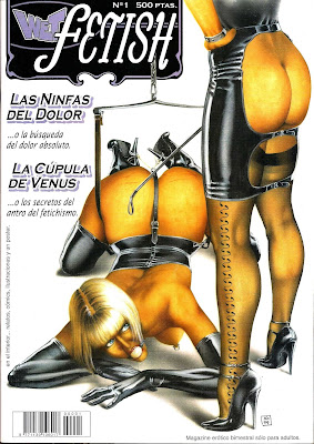 wet fetish revista de comic bdsm