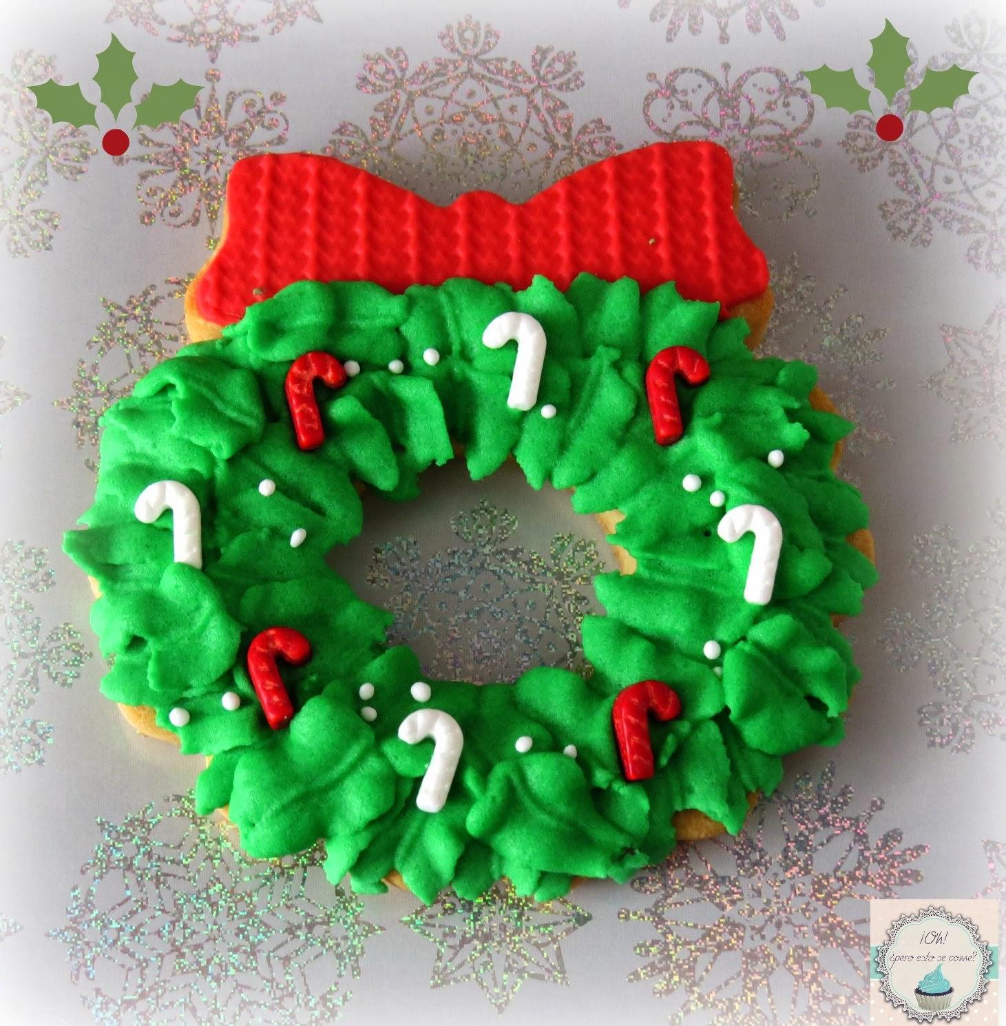 Oh, ¿pero esto se come?: Galletas Navidad 2013
