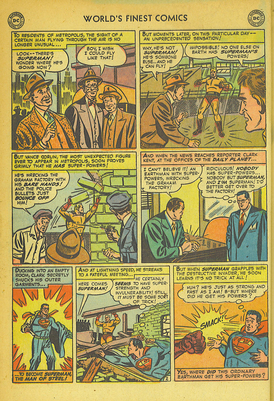 Read online World's Finest Comics comic -  Issue #57 - 4