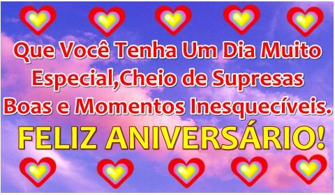 mensagem de aniversário para amiga cc