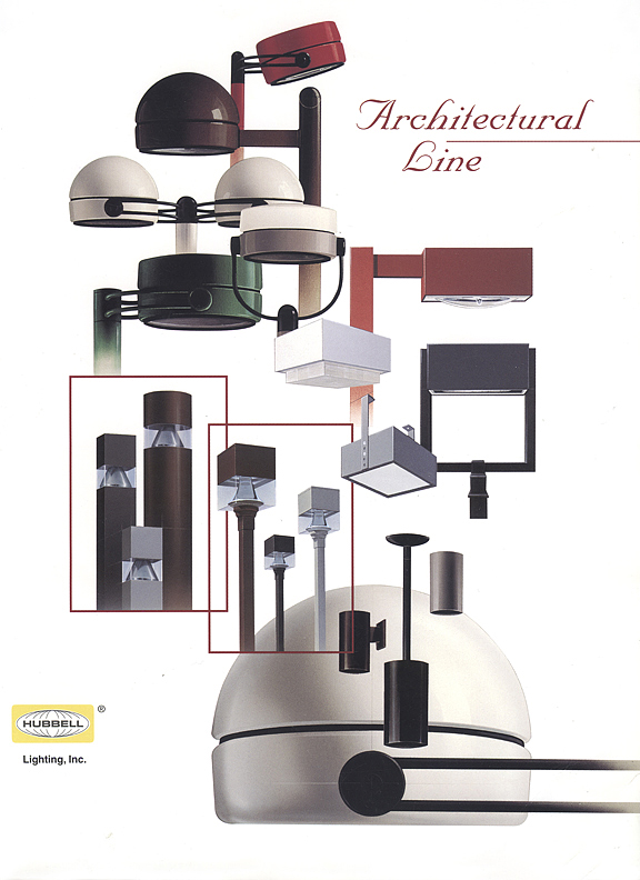 Hubbell Lighting Inc. Architectural Line Illustrations