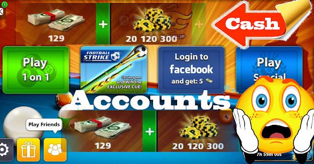 cash 8 ball pool Free