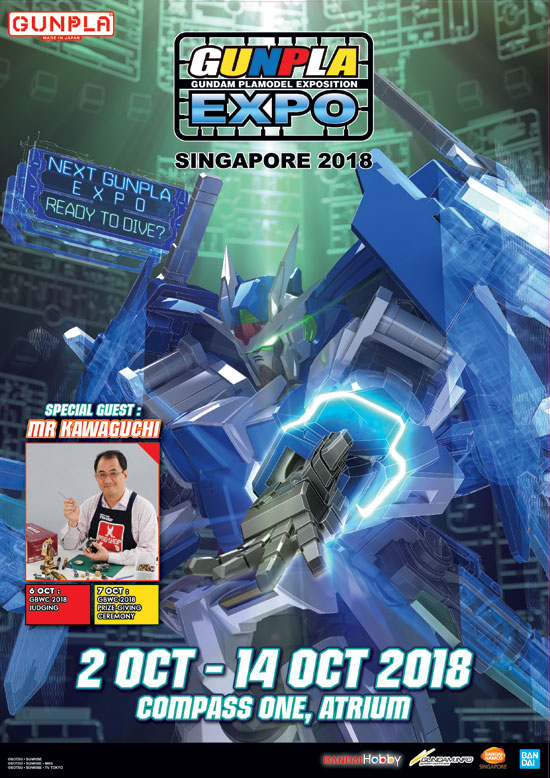 Gunpla Expo 2018 Singapore event date