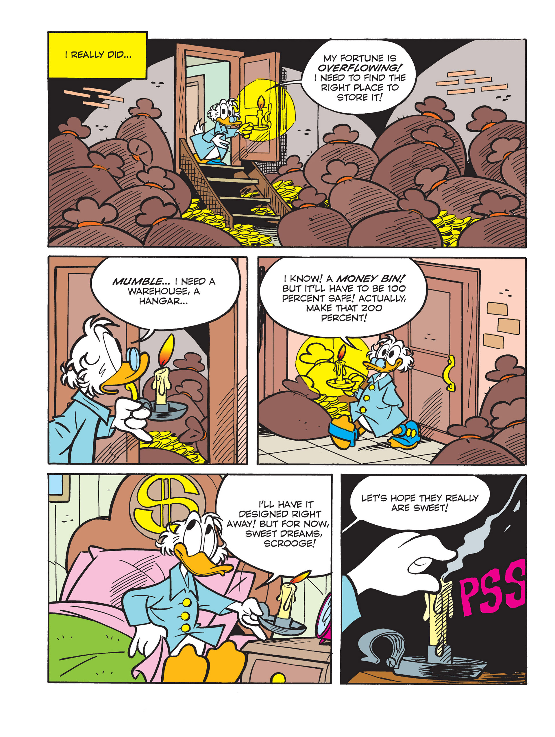 Read online All of Scrooge McDuck's Millions comic -  Issue #10 - 12