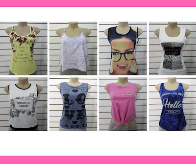 Lotes de roupas femininas