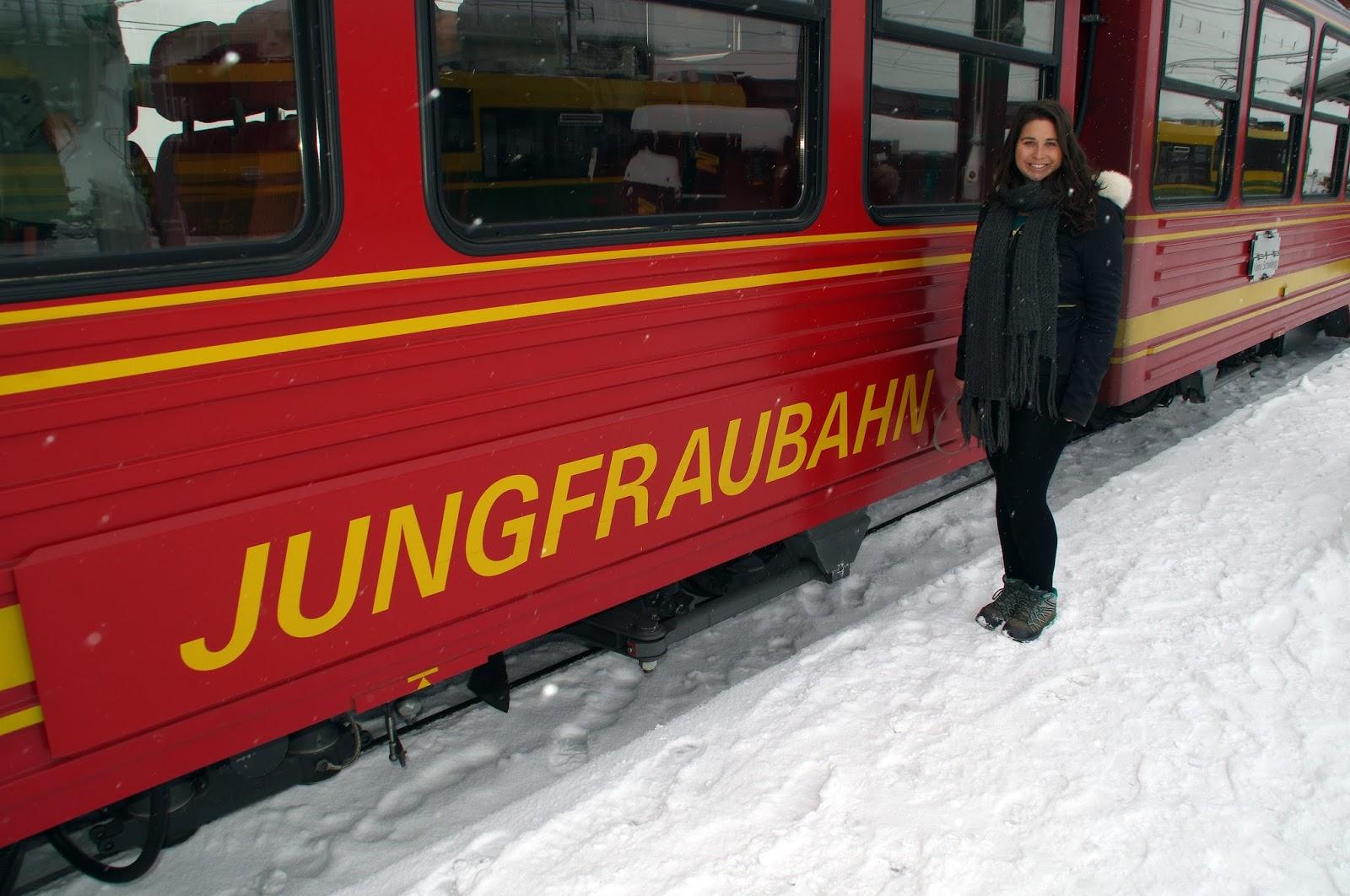 Jungfraujoch Train