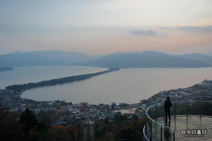 vue sur la baie de Miyazu, Amanohashidate, préfecture de Kyoto