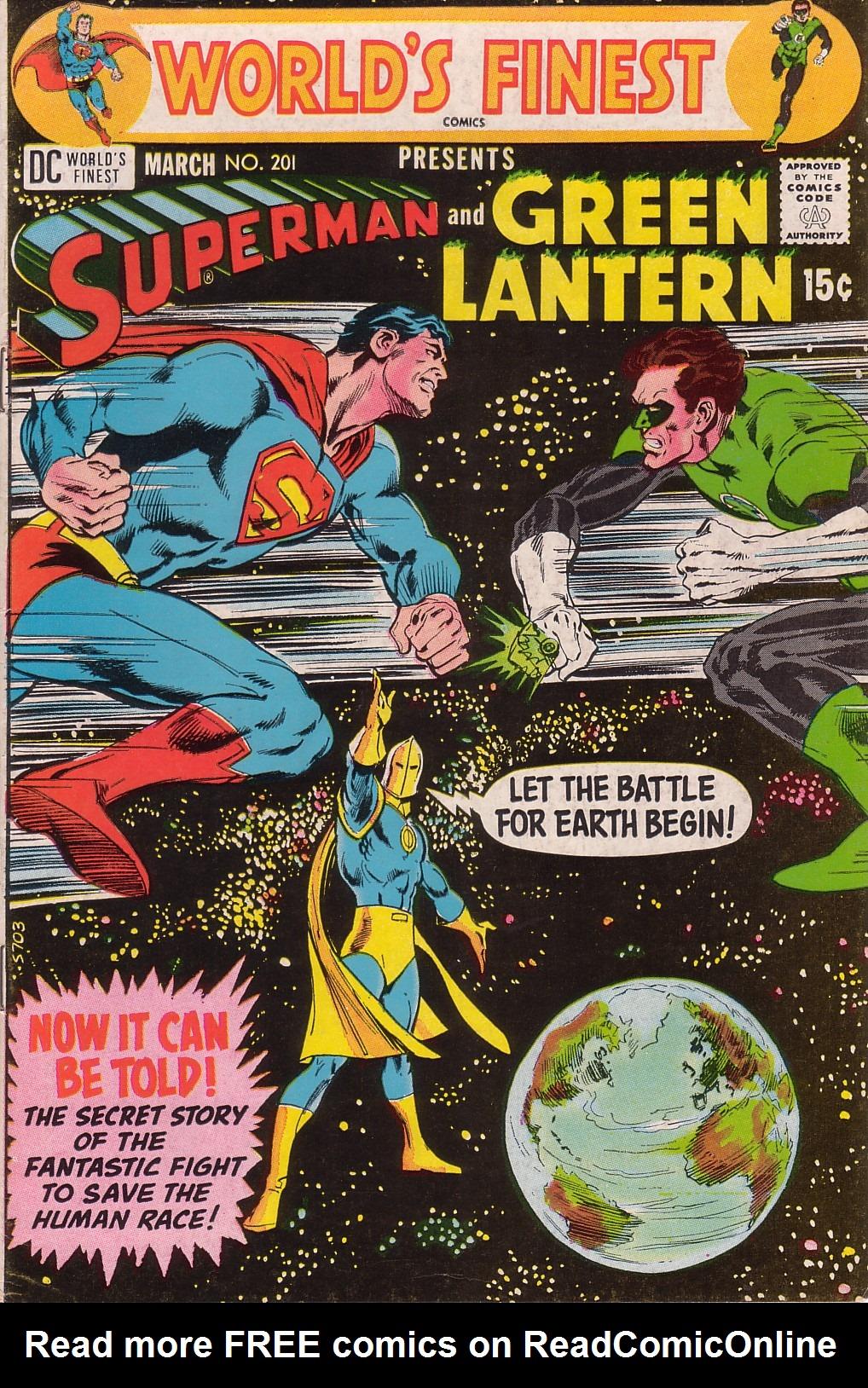 Read online World's Finest Comics comic -  Issue #201 - 1
