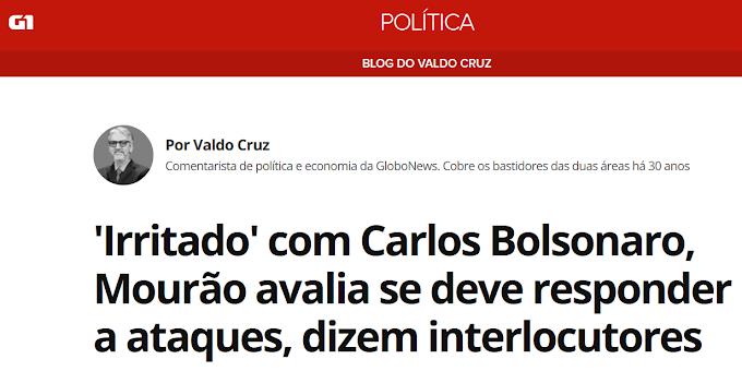 Vice - Presidente Hamilton Mourão 100 dias de desserviços a nação Brasileira | Cala Boca Mourão - Carlos Bolsonaro tem razão