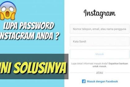 6+ Cara Mengganti Password Instagram