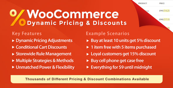 woocommerce dynamic discounts and pricing plugin