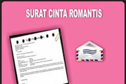 Contoh Surat Cinta Romantis Terbaru