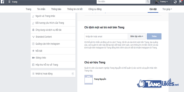 cach them fanpage vao trinh quan ly doanh nghiep facebook  7