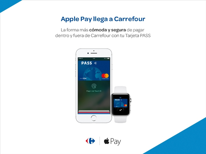 Apple Pay - Carrefour PASS