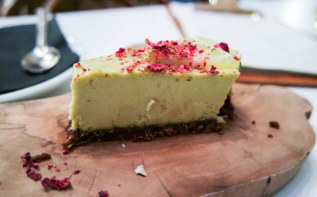 Tanya's Raw Food Cafe Chelsea key lime pie