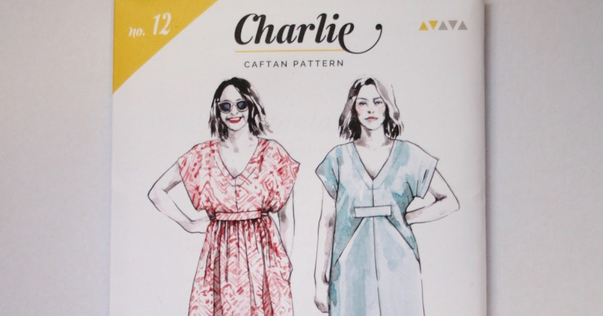 THE DRAPERY: Pattern Review: the Charlie Caftan by Closet Case
