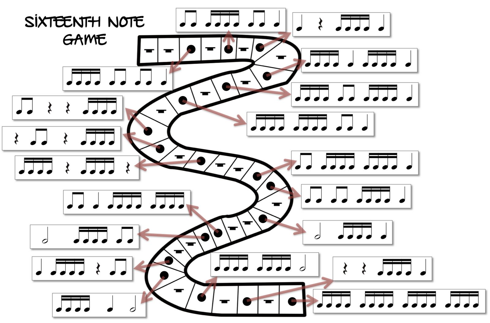 Sixteenth Note Game