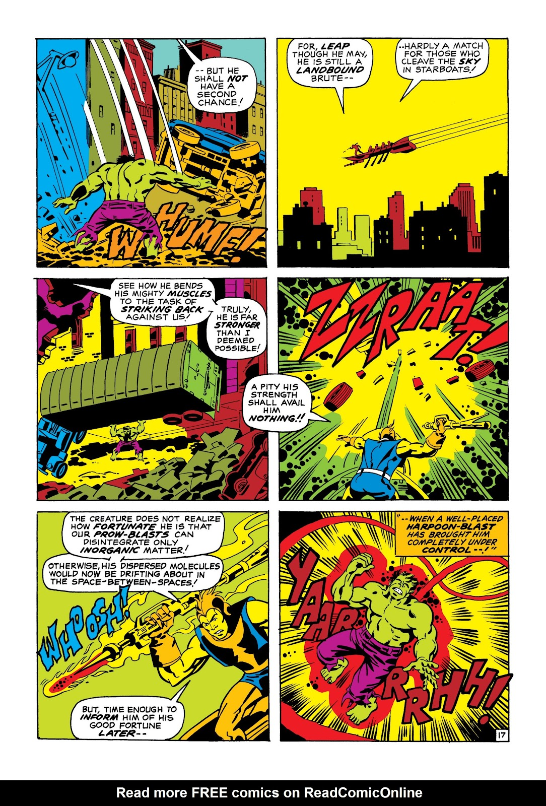 Read online Marvel Masterworks: The Incredible Hulk comic -  Issue # TPB 7 (Part 1) - 43